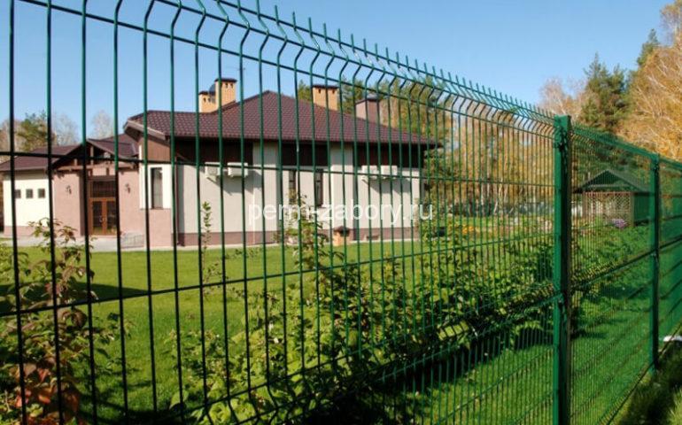 3д забор в Перми