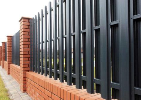 забор из евроштакетника цена в Перми